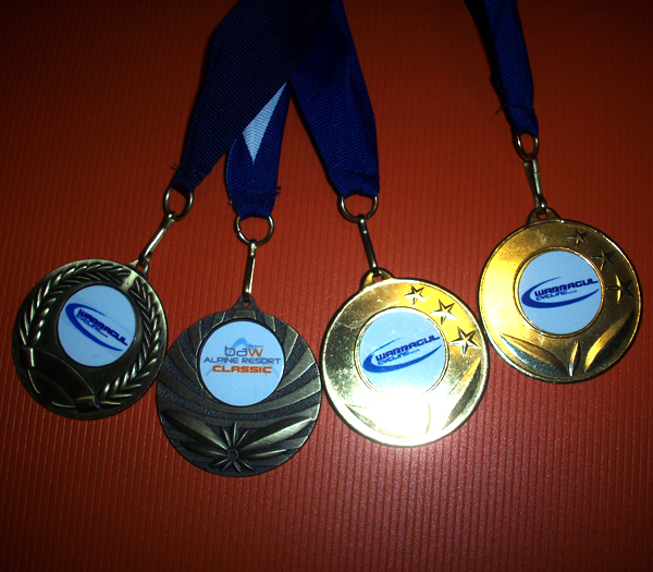 Baw Baw Classic Webmaster's Finisher Medals